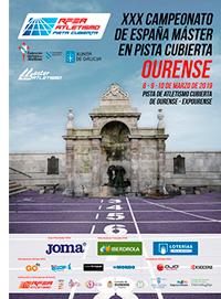 CNAT. D' ESPANYA DE PISTA COBERTA – OURENSE