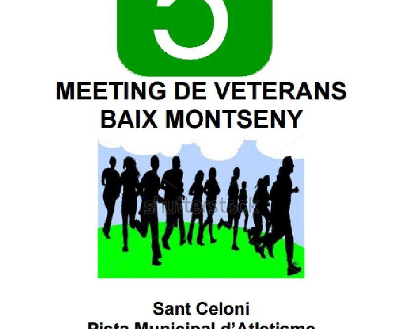 5è. Meeting de Veterans Baix Montseny