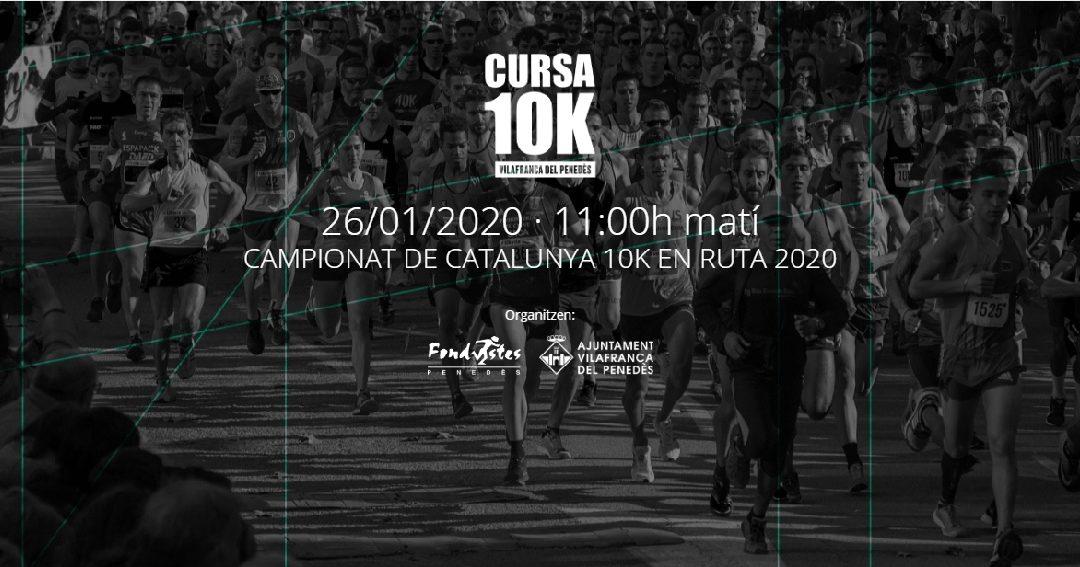 Campionat de Catalunya de 10 Km (10a 10 Km de Vilafranca)